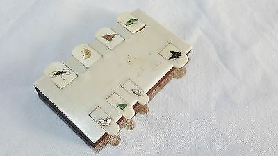 Japanese stag bone vintage Victorian oriental antique card counter – Bridge