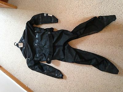 Women's black REED DRY SUIT for paddle sports (kayaking, canoeing etc.) size s/m