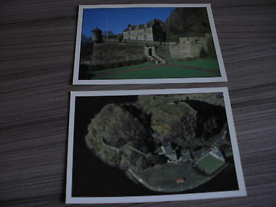 2 Postcards Dumbarton Castle