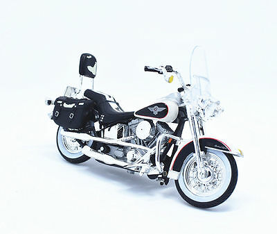 Maisto 1:18 Harley Davidson 1993 FLSTN Heritage Softail  MOTORCYCLE Bike Model