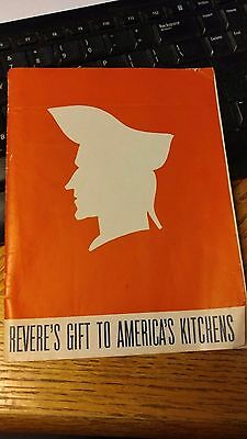 Vintage 1940 Revere Ware Cookware Booklet  & Catalog Rome Mfg Co Rome Ny