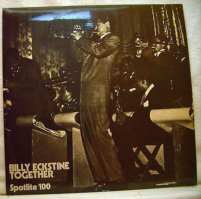 Billy Eckstine And His Orchestra ‎ Together, UK Vinyl LP 1972    Spotlight 100
