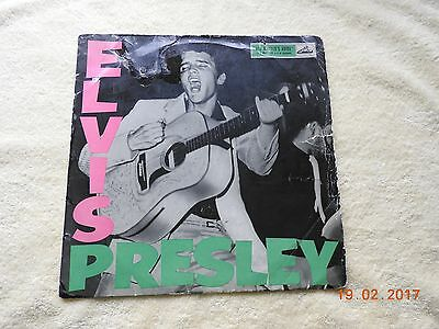 "Rare  ""ROCK AND ROLL "" ELVIS PRESLEY ON HMV 1956"