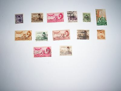 EGYPTE : 13 Timbres