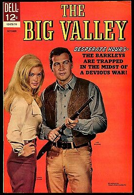 THE BIG VALLEY #5 VF-NM 1967 Dell Gorgeous Photo Cover Linda Evans Lee Majors