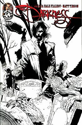 THE DARKNESS #89 Black and White Variant Cover