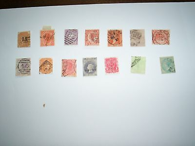 OCEANIE : 14 Timbres