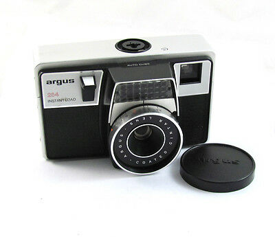 Argus 264 Instant Load Camera With Two Unopened 126 Film Cartridges