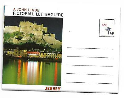 JERSEY  Postcard  5 Scenic Views   LETTER CARD ....UNUSED
