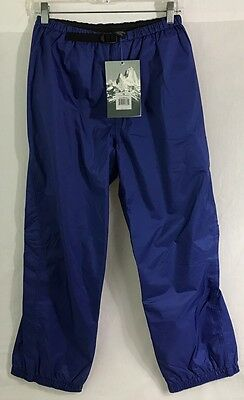 NWT Patagonia Blue All Terrain Pants Kids Size 14