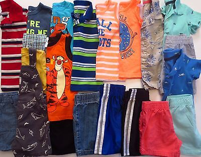 Lot Toddler Boys Size 24 Months 2T Spring Summer Clothes Outfits