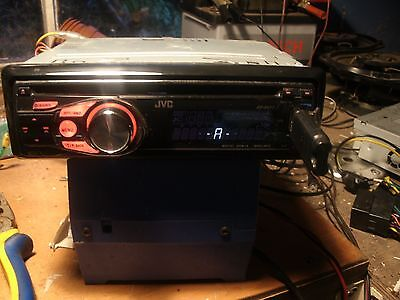 jvc kd-r411 cd mp3 wma car stereo usb front aux in