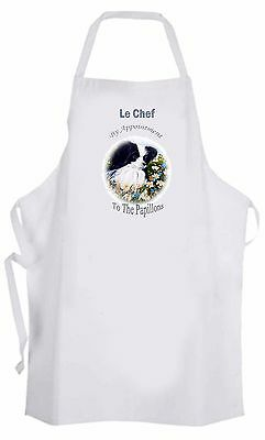 Papillon Toy Breed Dog Apron Design Kitchen Accessory Sandra Coen Artist Print