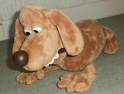 Creature Comforts - Aardman 2003 - Trixie Dog - Large 17 in long Plush Soft Toy