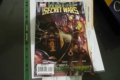 What If ?Secret Wars - What If Dr Doom kept Beyonders Power No.1 (2009) - Rare