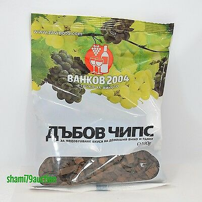OAK CHIPS Bulgarian High Quality Baked Highly Troyan Balkan Barrel Homebrewing