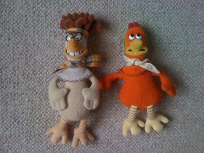 Collectable Chicken Run Beanie Soft Toy Top-Notch Run Mac & Ginger Characters