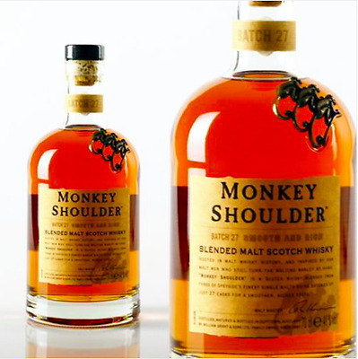 Whisky Monkey Shoulder 70cl lot x2 bouteilles -NEUF-