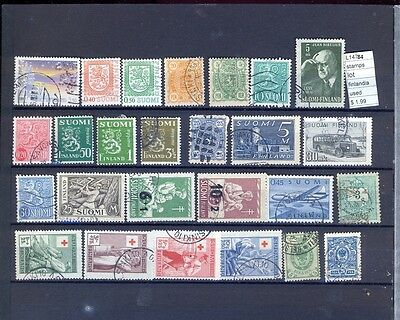 Stamps Lot  Finland  Used  (L14784)