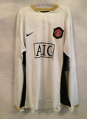Manchester player issue l/s away shirt- new with tags -