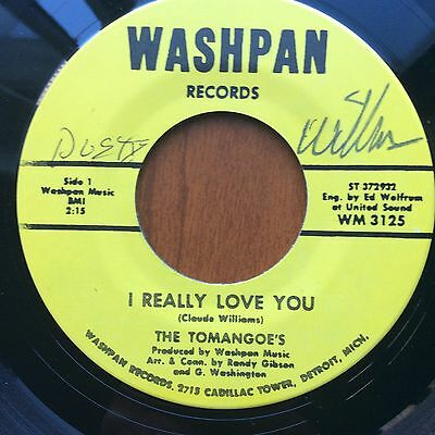 Signed Copŷ - The Tomangoes - I Really Love You