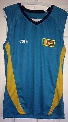Sri Lanka Cricket Training Vest New with Tags Large