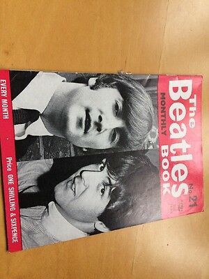 The Beatles Monthly Book Excellent Condition All Originals From 1964