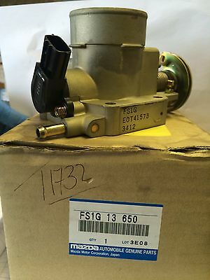 Genuine Throttle Body Mazda 323 1.8 2000 Onwards  Fs1G13650