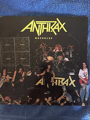"""Anthrax Madhouse - Live 12"""" Single"""