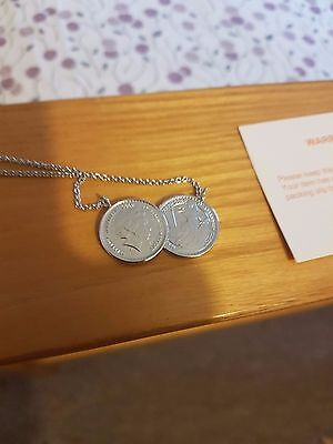 Iconic Two Coin Necklace