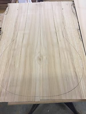 Maple Guitar Back And Side Set