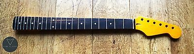 Strat Stratocaster Rosewood and Maple Electric Guitar Neck Vintage Gloss 22 Fret