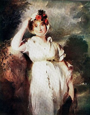 """Caroline of Brunswick - Queen of George IV - After Sir T. Lawrence - 10"""" x 12"""""""