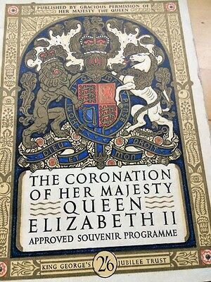 The Coronation Of Her Majesty Queen Elizabeth II - Approved Souvenir Programme