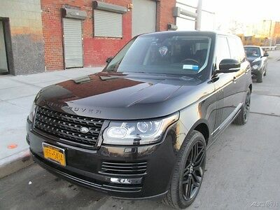 2014 Land Rover Range Rover AWD Premium 2014 RANGE ROVER HSE 3.0L V6 Supercharged LOADED Automatic SUV