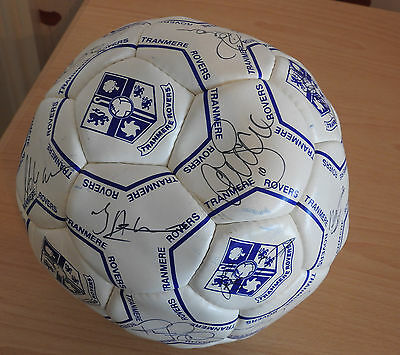 Tranmere Rovers Signed Football  Year2000