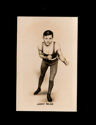 """Union Jack 1923 Scarce ( Boxing ) Card """" # 1 Jimmy Wilde -- Monarchs Of The Ring"""