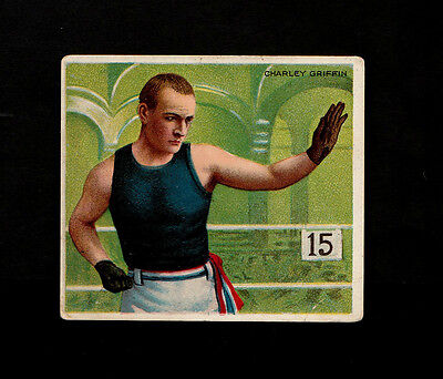 "A.t.c. 1910 Scarce ( Boxing ) Type Card "" Charley Griffin -- Prize Fighters """