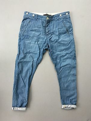 Topman Ltd Edition Denim Jeans Chinos Sz 32 Waist 30 Leg