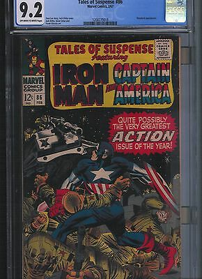 Tales of Suspense # 86 CGC 9.2 Off White to White Pages. UnRestored