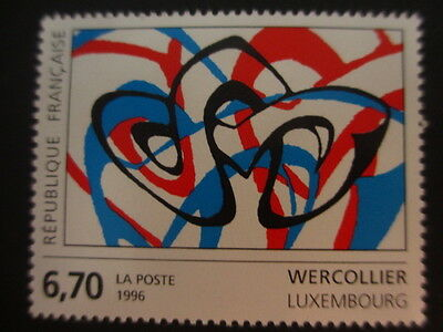 Timbre - FRANCE - Tableau de WERCOLLIER - Luxembourg - 1996 - neuf ** - n° 2986