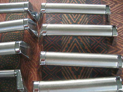 Previously used Stainless Steel T Bar Kitchen Cabinet handles 12 cm long x 10
