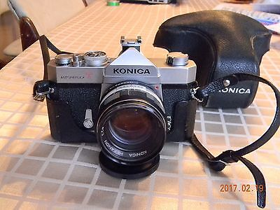 Konica Autoreflex 35MM Film SLR Camera