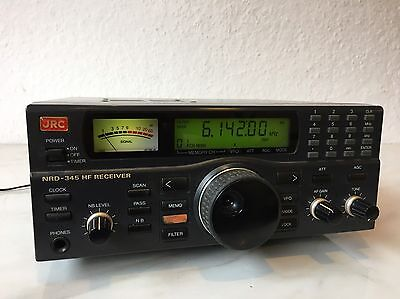 JRC NRD 345 HF Communications Receiver Kurzwellenempfänger