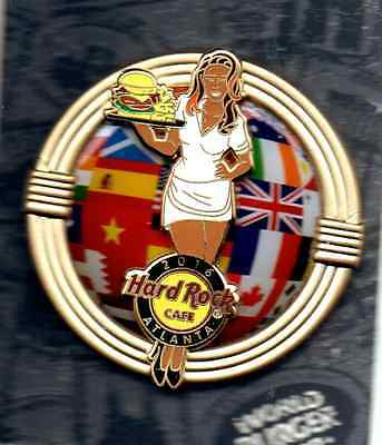 Hard Rock Cafe Atlanta - World Burger Tour Series Pin 2016