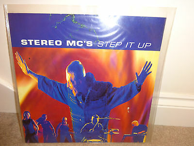 "Stereo MCs Step It Up 12"" Vinyl Single Leftfield Remixes"