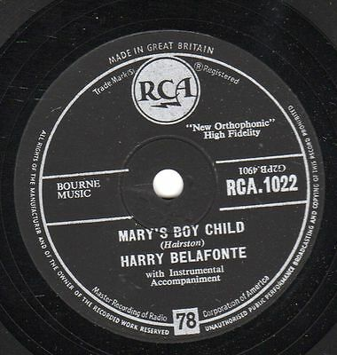 Harry Belafonte : Mary's boy child / Eden was just like this