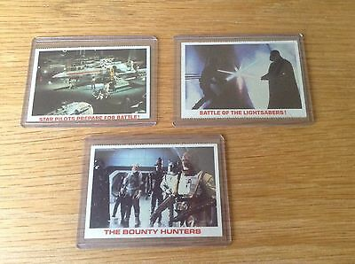 JOB LOT VINTAGE 1970s RARE TOPPS STAR WARS EMPIRE STRIKES BACK TRADING CARDS