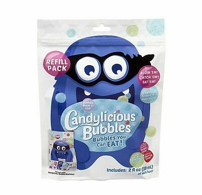 Candylicious Edible Bubbles - Candy Bandit Bubble Machine Refill Pack by Little