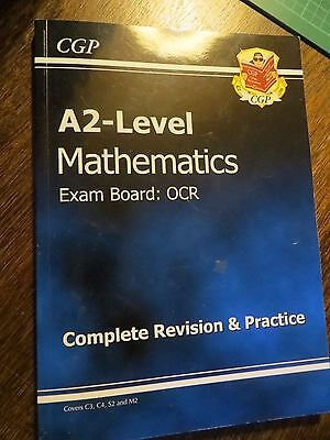 CGP A level Maths Complete Revision and Practice book